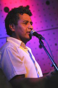Hlavní zpěvák Felix Aguirre